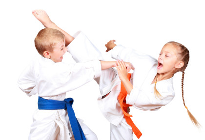 Baby karate